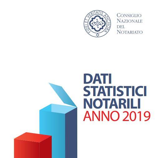 DATI STATISTICI NOTARILI ANNO 2019
